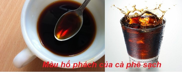 Phân biệt cà phê sạch và cà phê bẩn